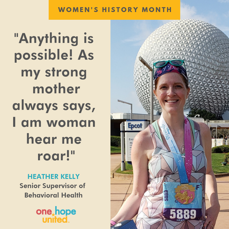 test Twitter Media - Heather Kelly, our Effingham Senior Supervisor of Behavioral Health, has been motivated to face adversity and push forward by the legendary Kathrine Switzer, the first woman to run the Boston Marathon as an official entry.   #WomenHistoryMonth #KathrineSwitzer #OHUDiversity https://t.co/E2uqsJcGjd