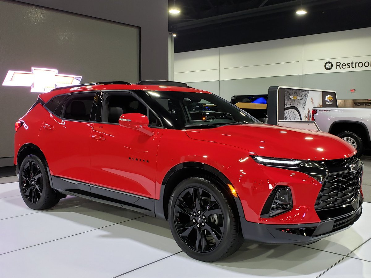 I love the new Brand NEW @Chevy Blazer RS, an SUV with attitude in my favorite color, Red Hot. Amazing Technology and Safety features, like Teen Driver and Collision alert. Chevy has something for everyone on the showfloor. @atlautoshow in #atlanta #AIAS19 #Chevy