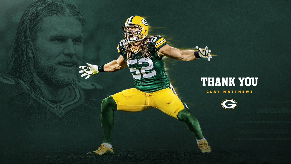 RT @packers: Thank you, Clay 💪  📰: https://t.co/GDDEntOKh1 https://t.co/CQePebnKFQ