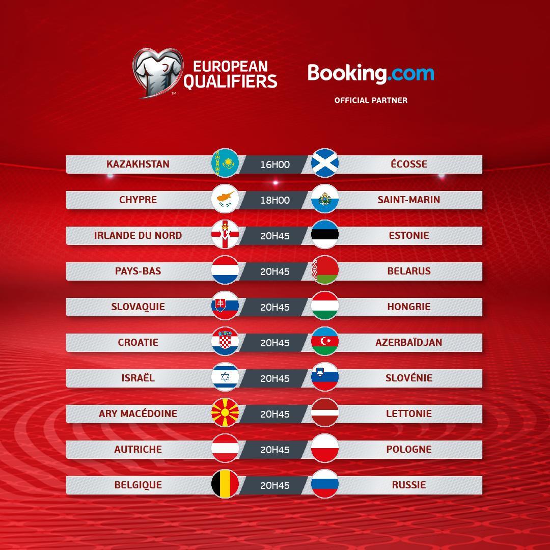 Euro 2020 programme