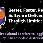 Image for the Tweet beginning: Better, Faster, Resilient Software Delivery