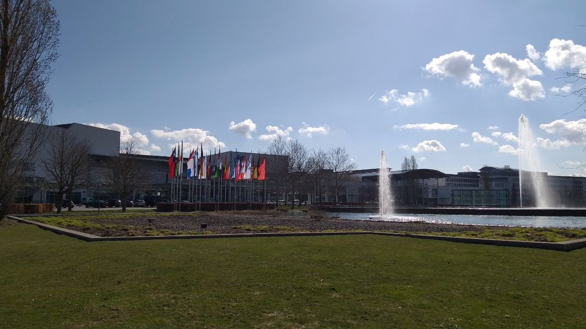 #Lopec2019 @OEAonline Beautiful sunny day in Messe Munchen!