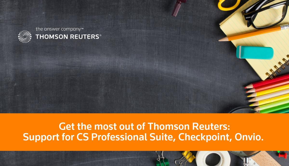 Thomson Reuters for Tax & Accounting Firms on Twitter: