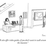 Image for the Tweet beginning: This #newyorker cartoon nails our