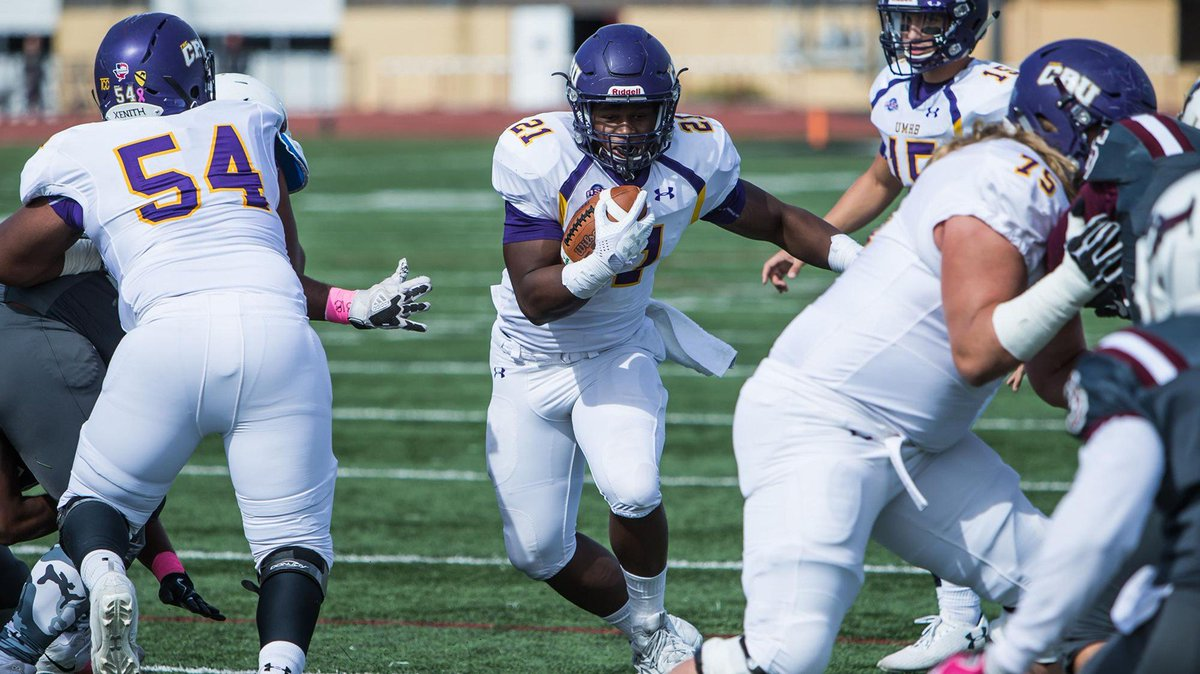 The Rams are working out RB Markeith Miller of D-III powerhouse Mary Hardin-Baylor today, per source. Remember the name, an under the radar prospect who gained 4,501 rushing yards the past three seasons. Had 32 TD in 15 games this past year. Small school stud. @crufootball<br>http://pic.twitter.com/5Iyn8JoSHi