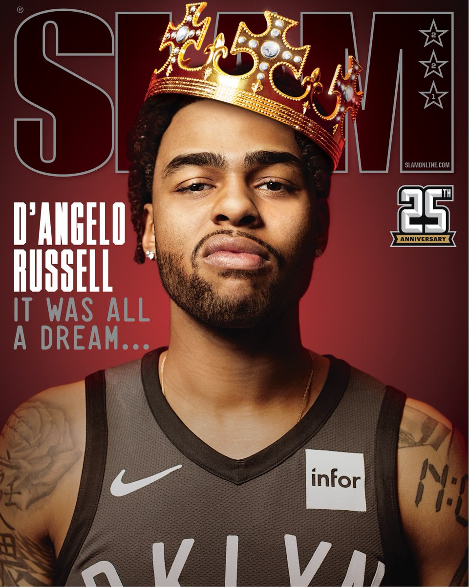 BUILT FOR THIS.  D'Angelo Russell covers SLAM 221: http://slam.ly/dlo-story