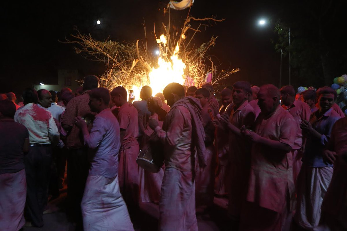 Rupani appeals people to add Panchagavya to Holi bonfires in order to achieve fumigation against spread of diseases
