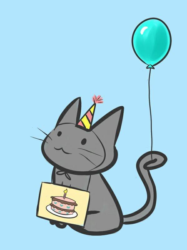 коты ко дню рождения предпочтительными остаются штамбовые