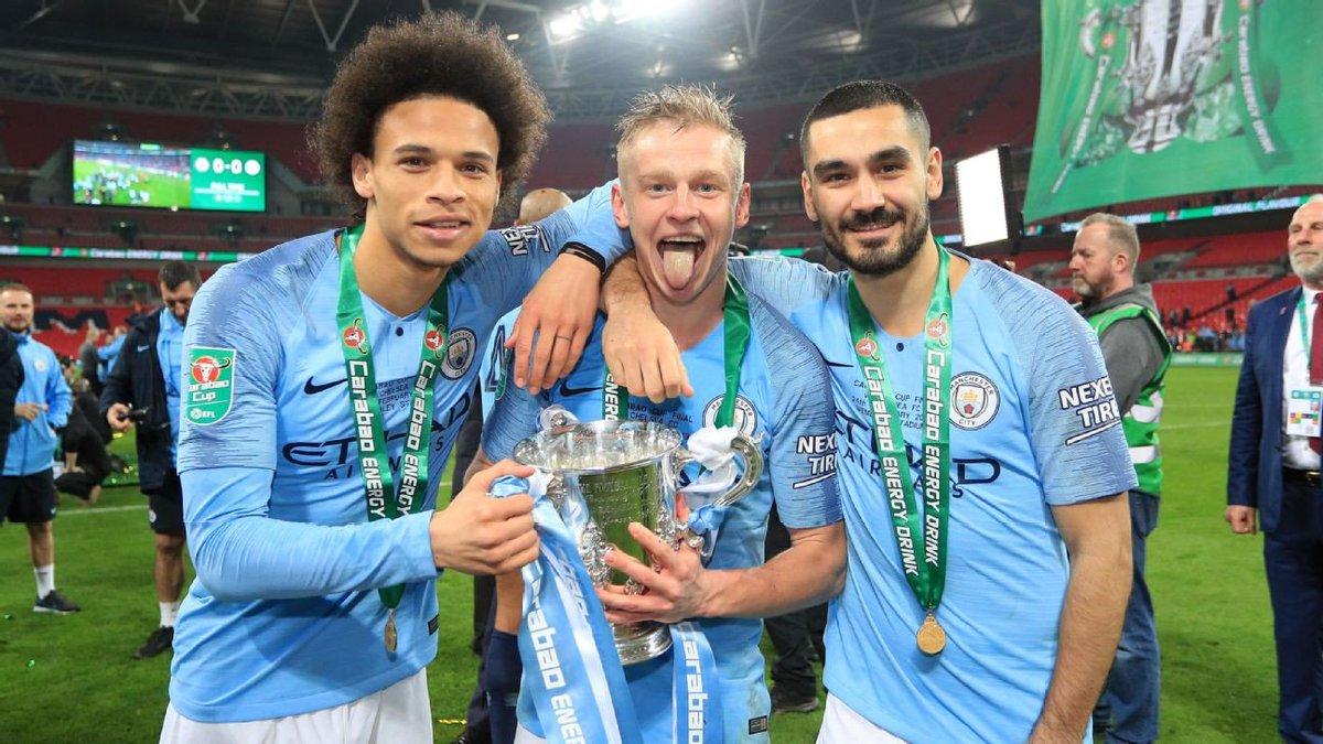 Leroy SaneandOleksandr Zinchenkoare set to sign contract extensions at Manchester City.  [via @jonnysmiffy]