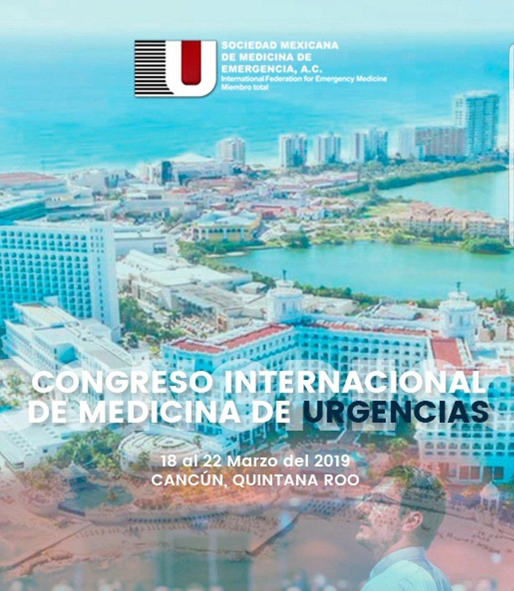 Costa Rica está presente en el #CIMU19 en Cancún , México con varios expositores @umanamd @alemoyaal @mumara04 @mdrsingha . Nos encontramos muy contentos con la representación costarricense en varios congresos internacionales #emergencymedicine #educación #asocomeconf