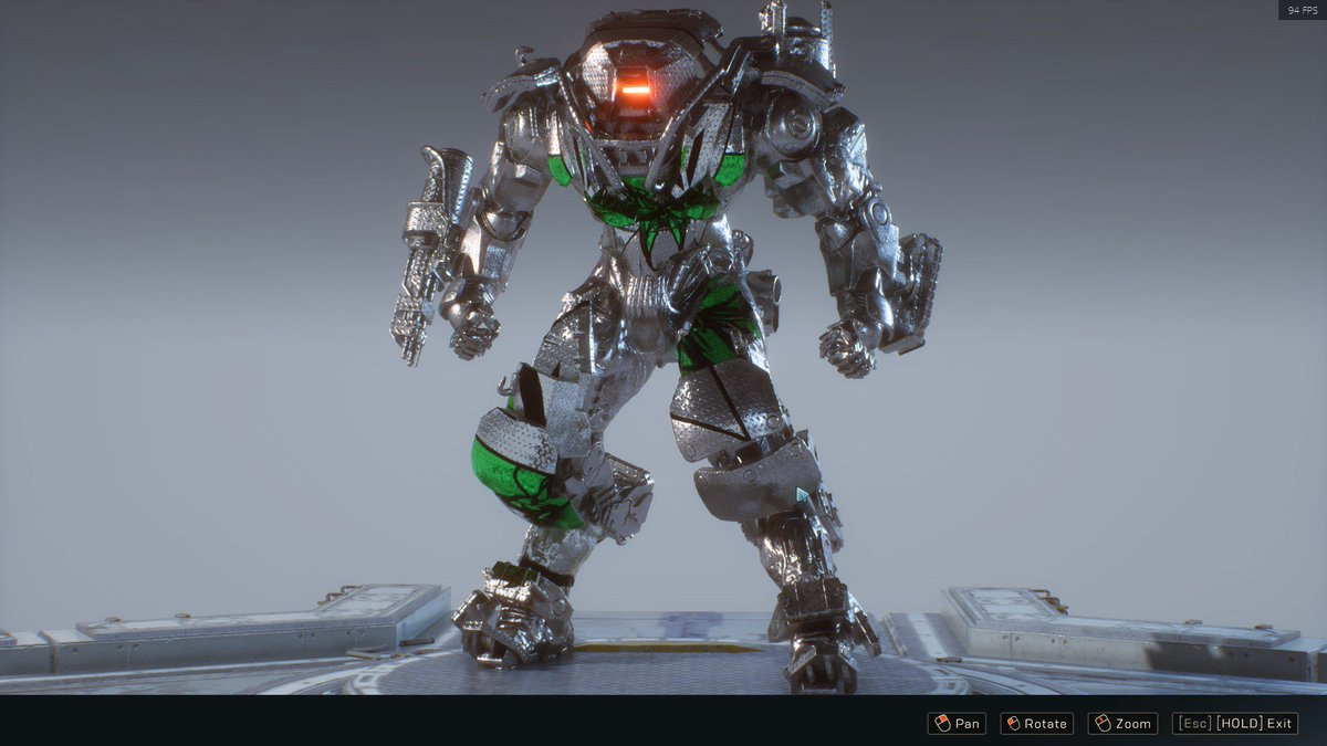 Full Diamond plate Thiccboi! @anthemgame