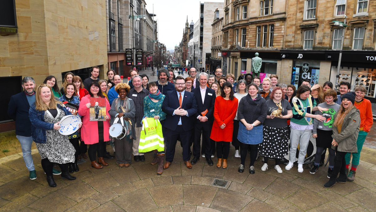 Exciting announcement about the new Creative Communities: Artists in Residence project, funded by @GlasgowCC and managed by @glasgowlife. The artists have been selected and will be starting work in Glasgow's 23 wards now! https://bit.ly/2HvwW1J #glasgowcreates @SNPdavid