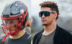 Pat Mahomes is Oakley's first EVER football player https://t.co/huwO8hFQRO