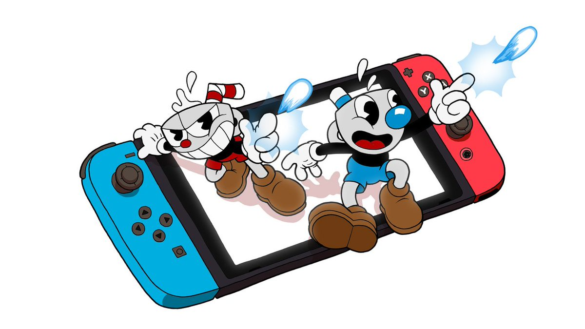 Fight across strange worlds inspired by cartoons of the 1930s when @StudioMDHR's Cuphead jumps and shoots its way onto #NintendoSwitch on April 18! You can also pre-purchase now! #Nindies  ☕ https://bit.ly/2HypQth