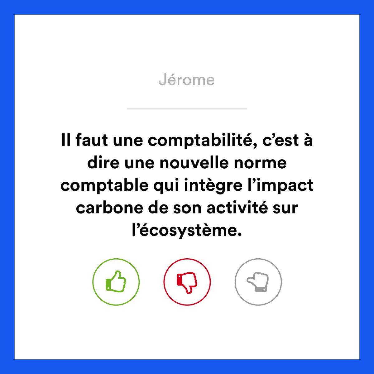 ✋  Vous avez des idées pour rendre notre économie plus bienveillante ? Comme Jérôme, faîtes entendre votre voix et partagez vos propositions sur https://app.make.org/FR-fr/consultation/economiebienveillante/selection…
