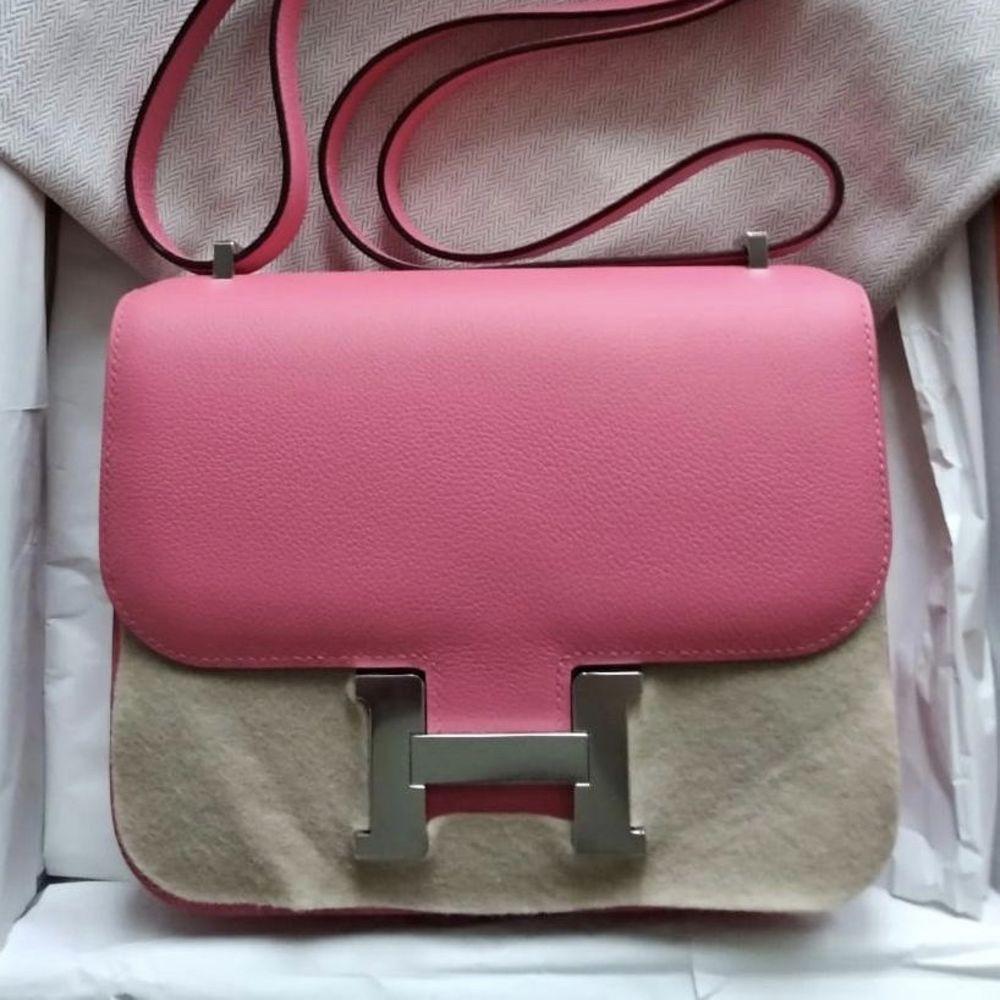 faf5ad27cc Constance 18 Rose Azalee Evercolor PHW  C  hermes  birkin  kelly  constance   handbags  luxurypic.twitter.com x7YYRVe9T3