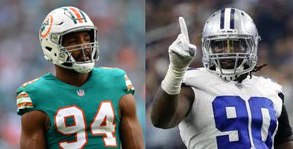 As #Cowboys prepare 2-pronged bid on DE Robert Quinn (trade and extension), they might want to check to see if #Saints &#39;interest&#39; is real, or a bluff to create the impression of multiple aggressive suitors. <br>http://pic.twitter.com/LbdVZQIA6y