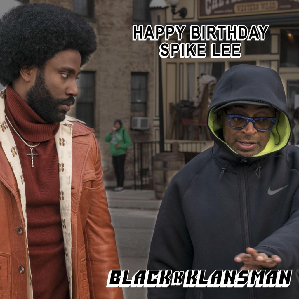 Happy Birthday, Spike Lee!  http:// uni.pictures/SpikeLee_joints  &nbsp;  <br>http://pic.twitter.com/nOh3en2aTK