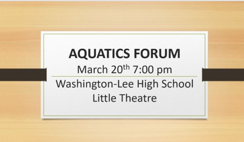 RT <a target='_blank' href='http://twitter.com/APSFacilities'>@APSFacilities</a>: REMINDER. Aquatics Forum. Give us your feedback on Budget, and Admission and Program fees. <a target='_blank' href='https://t.co/bTKKL2Io52'>https://t.co/bTKKL2Io52</a>