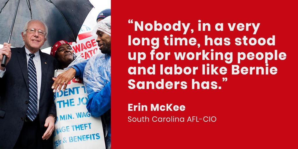 In 2014, Bernie introduced two bills to provide loans and assistance to worker-owned businesses:  1⃣ the United States Employee Ownership Bank Act 2⃣ the Worker Ownership, Readiness, and Knowledge Act.  Bernie represents the interests of all workers!  #Labor4Bernie #FEELtheBERN