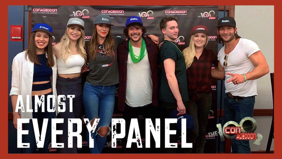 Here it is! 6+ hours of #Conageddon2 panel footage! Took forever to process on YouTube. Time codes in the description / pinned comment so you can jump to a specific panel. Hope you enjoy. #The100   https:// youtu.be/-36xHOEgkmI  &nbsp;  <br>http://pic.twitter.com/A7lL79YE1v