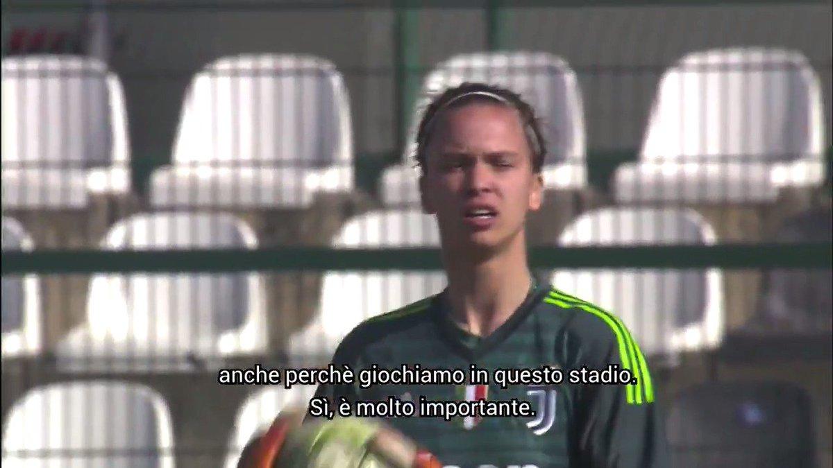 Verso la Première   🎙 Doris Bacic: «Un sogno giocare nello stesso stadio di @MarioMandzukic9»   Avvicinati a #JuveFiorentina con @JuventusTV 📲   Il tuo biglietto gratuito per domenica? 🎟 http://juve.it/3pYf30o4opS