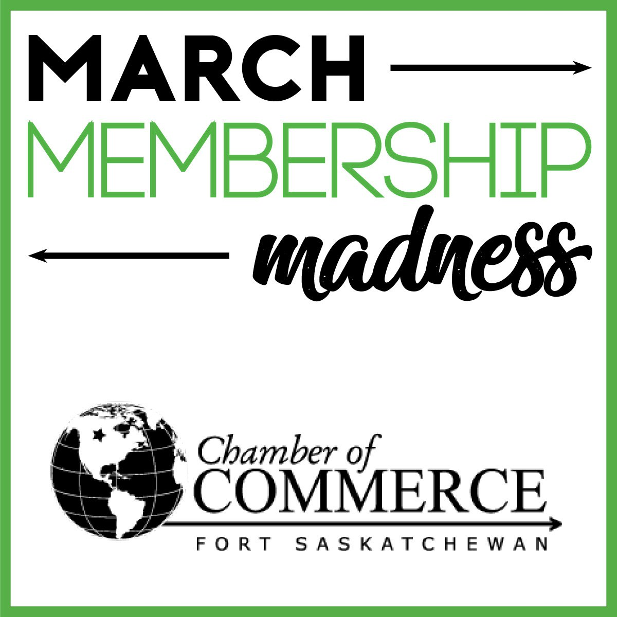 12 days left! Click here for details: https://www.fortsaskchamber.com/march-membership-madness…