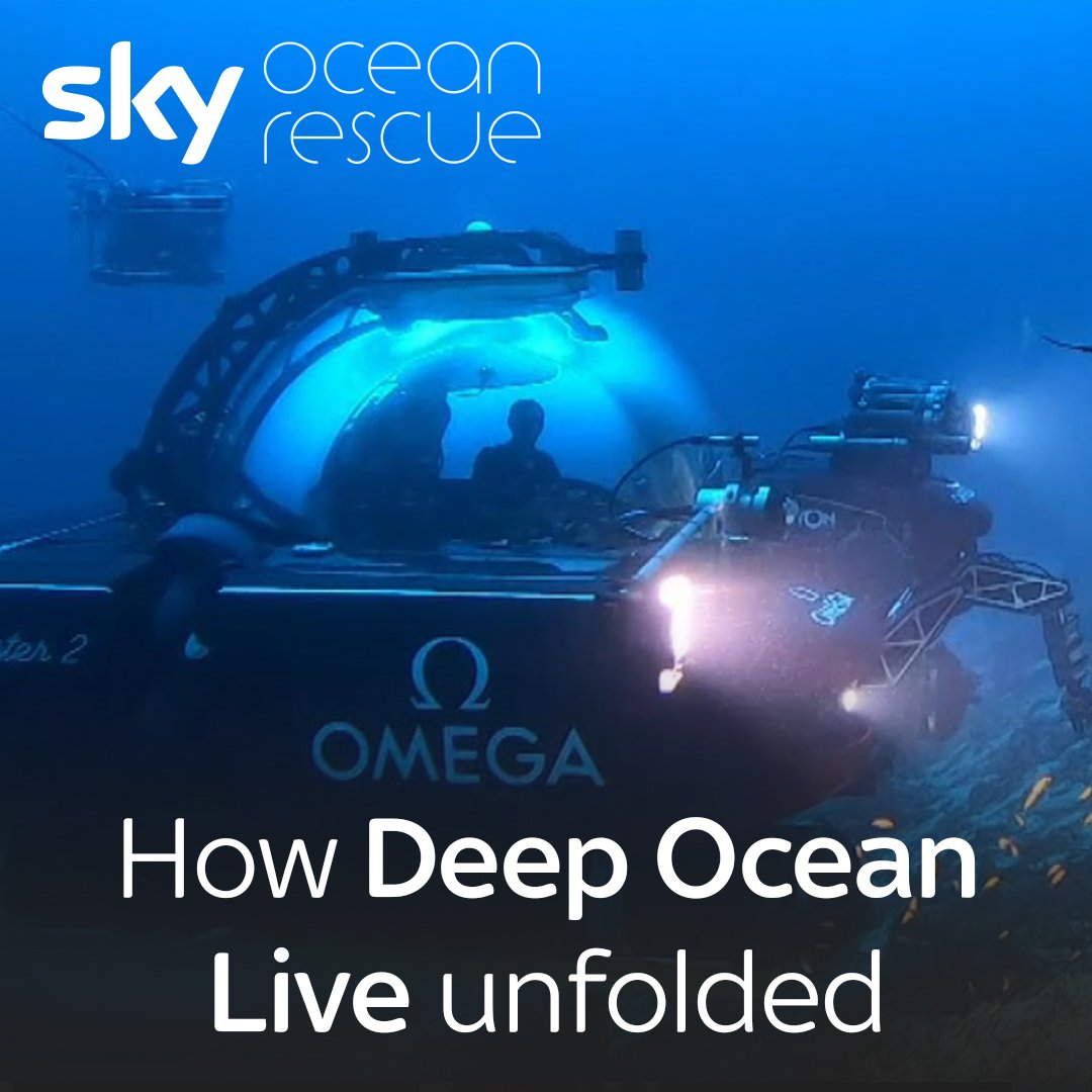 Over three days, Sky News broadcast live from the depths of the Indian Ocean three times.  Get more on #DeepOceanLive here: https://t.co/9Z8JJRg9rv