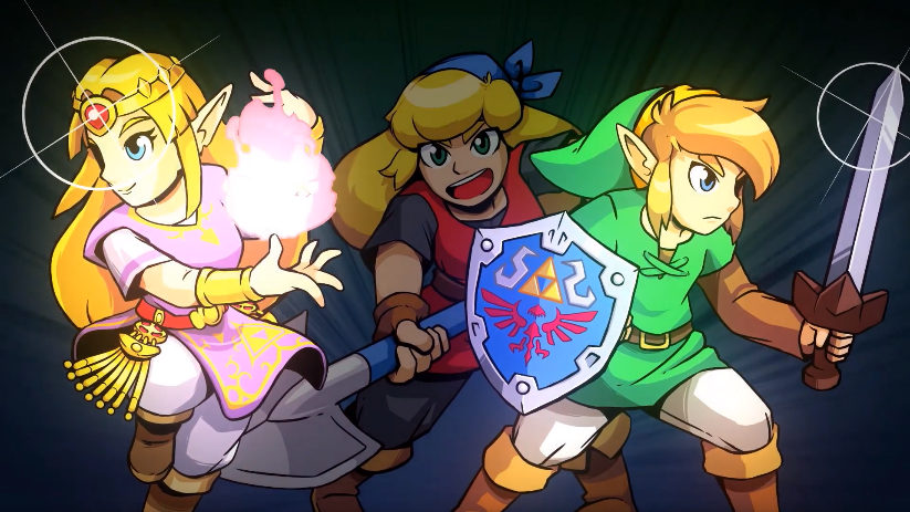 A new Crypt of the Necrodancer is being announced! And Link and Zelda are here! #Nindies  https:// nintendowire.com/news/2019/03/2 0/nindies-spring-showcase-2019-live-blog/ &nbsp; …  <br>http://pic.twitter.com/jRjITbEvYq