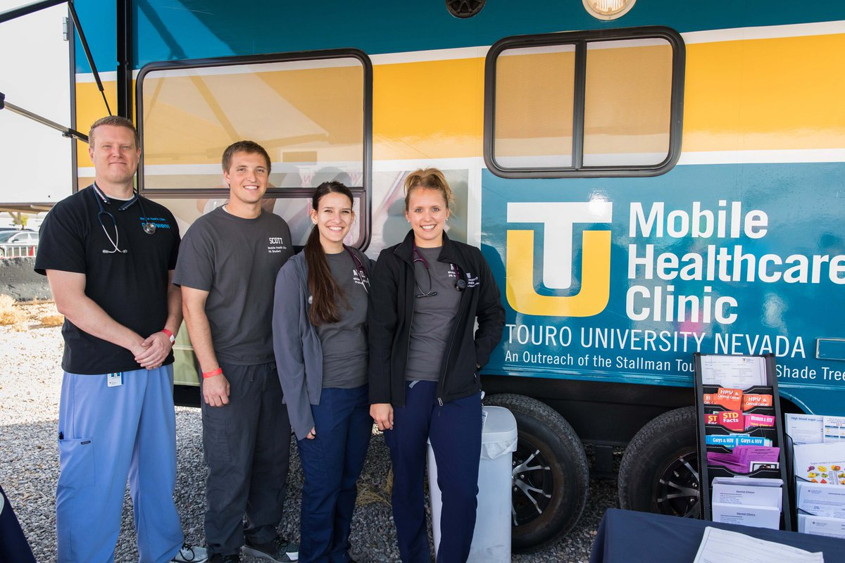 Touro University Nevada is offering free primary medical care for low-income residents, including senior adults, when its mobile clinic visits  Morrell Park, 500 Harris St., on Tuesday, March 26 from 8am until 12pm. Bring your I.D. All ages are welcome.  https://loom.ly/WYglT3o