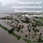 Image for the Tweet beginning: Nach dem schweren Tropensturm #Idai