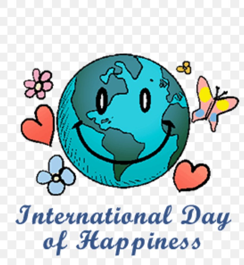 Today is International Day of Happiness. Tell me what makes you happy