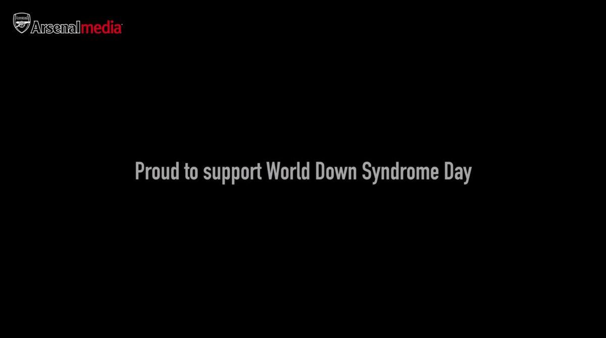 Arsenal FC's photo on #WorldDownSyndromeDay