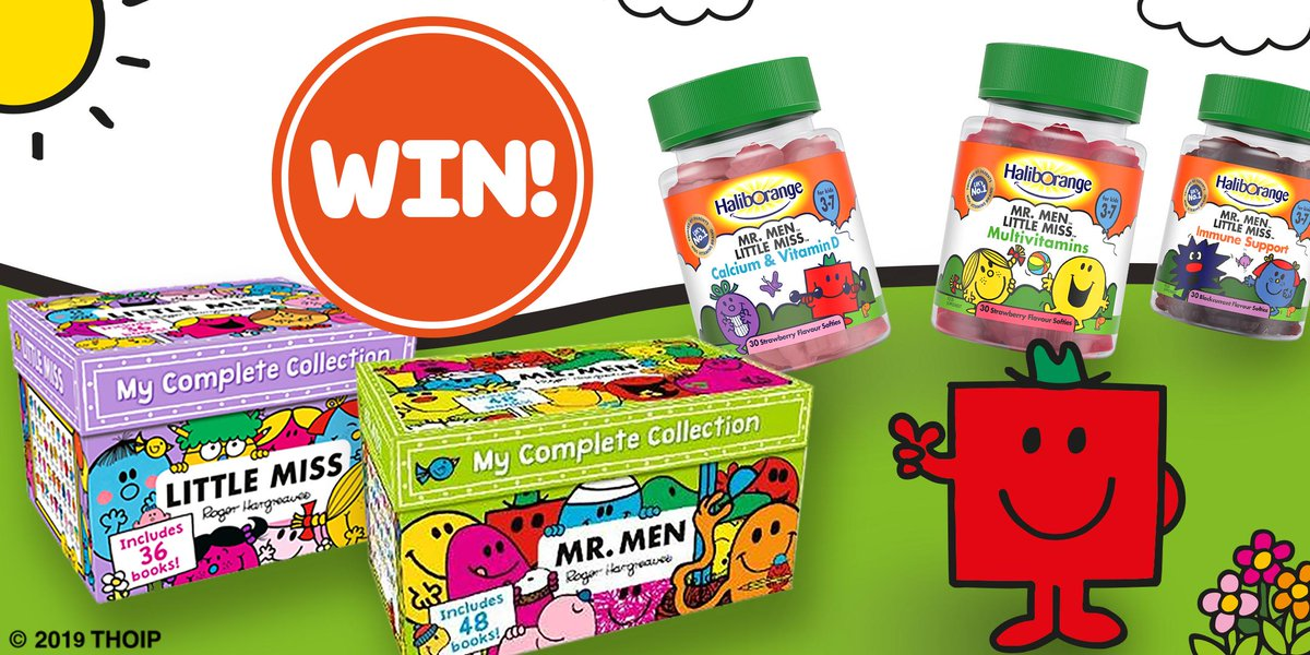 💥COMPETITION TIME!💥 We're giving you the chance to #WIN Mr Men & Little Miss 'My Complete Collection' Book Packs! 📚😃 Simply RETWEET & FOLLOW @savershb and @haliborangeuk for your chance to WIN! 😜  Ends 30/4/19. T&Cs apply - https://bit.ly/2UQjEjq