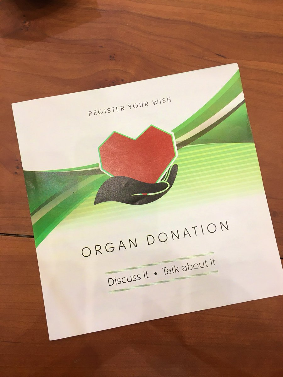 THANK YOU ALL for your greetings on my birthday today. After 50 years of getting presents, today it's my turn to give one. So I signed up to #OrganDonation. If you haven't signed up, you're still in time. What better gift than saving a life?