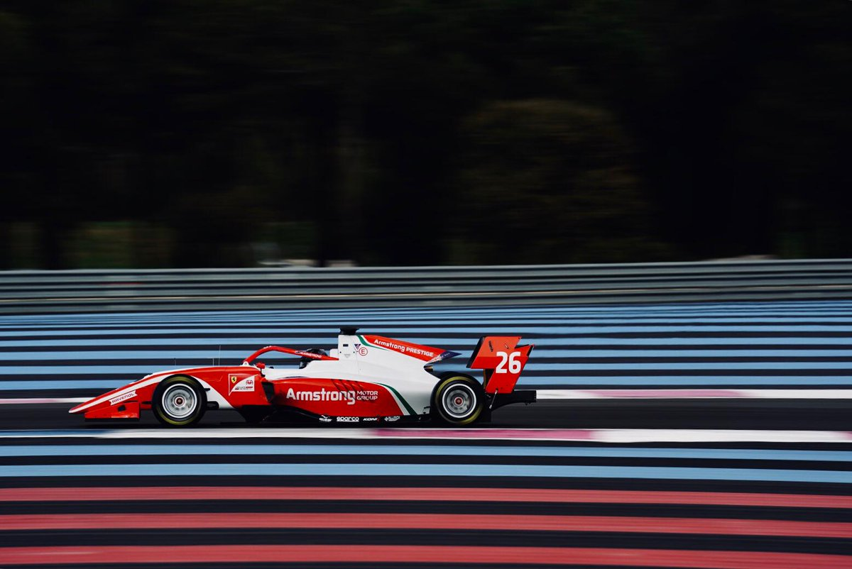 REPORT - @MarcusArmstrng sets the pace at @PaulRicardTrack on Day 1 of 2019 pre-season testing   https:// bit.ly/2JurEVU  &nbsp;    #F2 <br>http://pic.twitter.com/aKJeCMMjeG