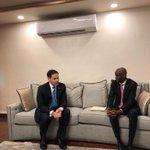 Image for the Tweet beginning: Met with President of #Haiti