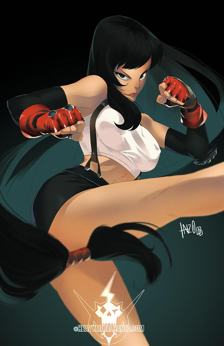 I updated a Tifa drawing i did a while back,playing around with a slightly different colouring style. #FinalFantasyVII #SquareEnix #fanart<br>http://pic.twitter.com/Xe6bjzZk3Z