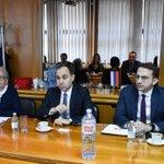 Image for the Tweet beginning: Ministar @AAnticBG sa delegacijom Ministarstva