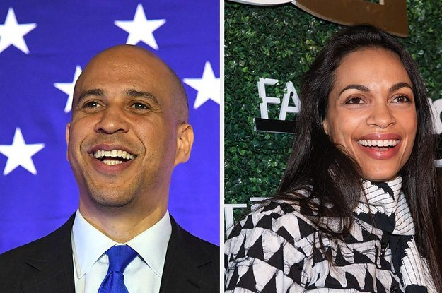 Cory Booker Teased The Possibility Of A White House Wedding With Rosario Dawson  http:// dlvr.it/R1Clhv  &nbsp;  <br>http://pic.twitter.com/UB4of8G0Kg