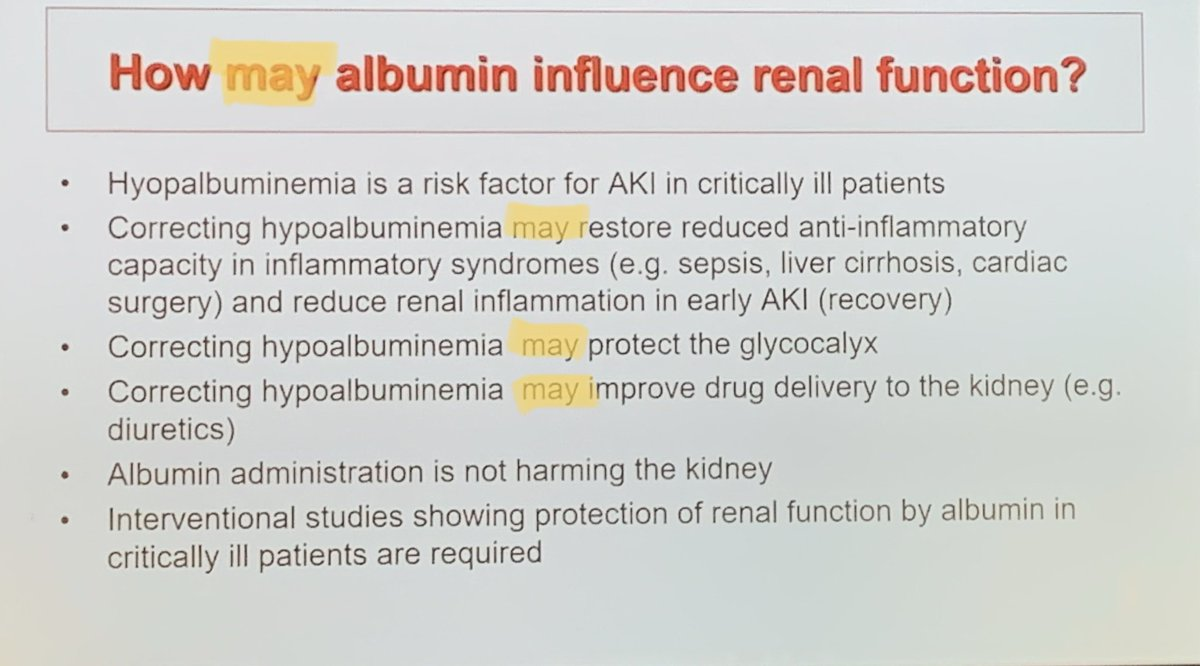 Albumin debate #ISICEM19 excellent talks, but still many &quot;MAY&quot;s #FOAM #FOAMed #FOAMcc #MedEd   ... Oh, and Theresa May Brexit <br>http://pic.twitter.com/XSu8BF5AkU
