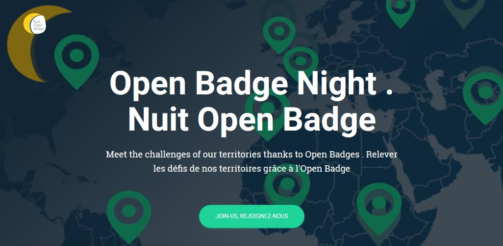 On now! Open Badge Night – La Nuit de l'Open Badge Cool, like the early days of TV! My 15 min of fame is at 4:45pm EDT, 21h45 CET: #OpenBadges initiatives @eCampusOntario & @HPass_Now (video by Alex Farrington of @AcademyHum ) https://obnight.openrecognition.org/   (Select Live Badge Trek 2)
