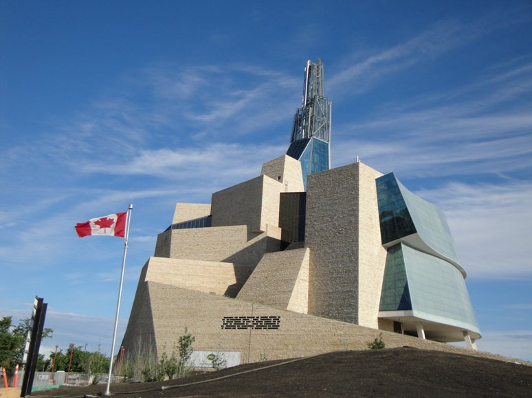 A2. Canadian Museum for Human Rights in Winnipeg, MB ... everyone should check it out @CMHR_News @cityofwinnipeg #AtCMHR #CanadaChat
