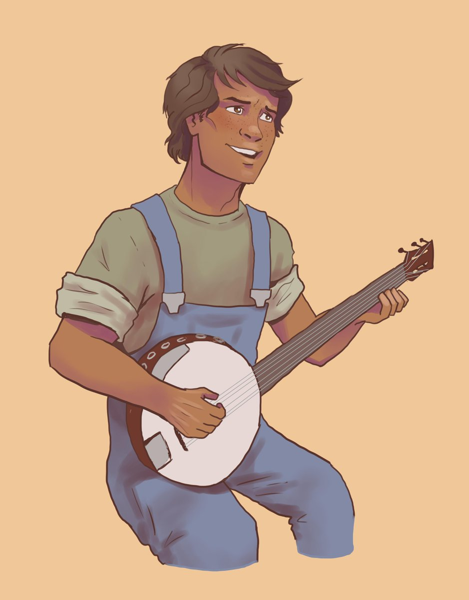 eli vanto with a banjo!  (not pictured: thrawn, listening in astonishment) <br>http://pic.twitter.com/lODrGn6OPM