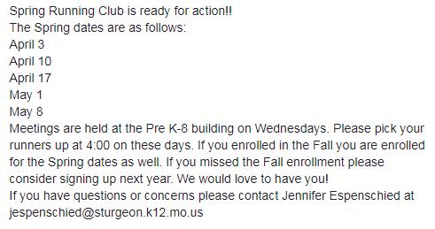 Running Club is BACK!!!!!!!!!!! @Principal_BB  #BLUEPRIDE <br>http://pic.twitter.com/5gVKKOWSh3