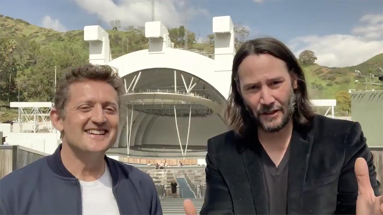 Bill and Ted 3 will begin production soon and release in 2020. https://t.co/9NHQai4HOI https://t.co/hOCVPfruxp