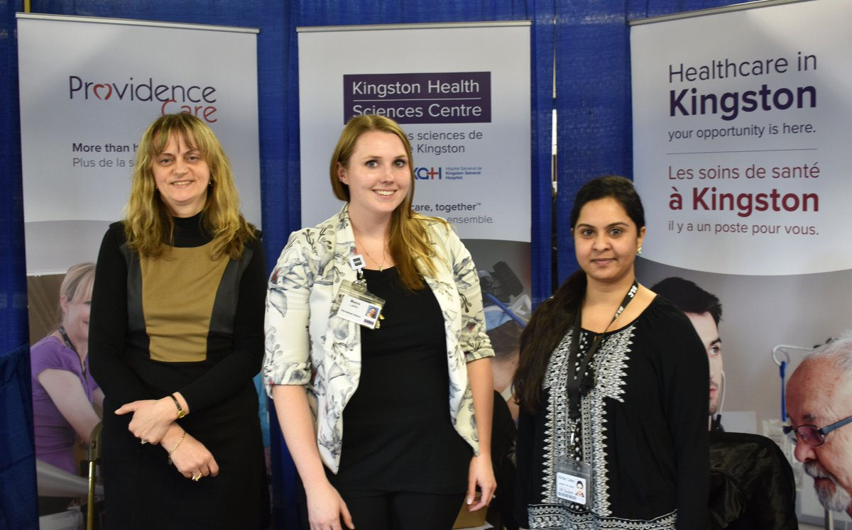 test Twitter Media - Happening now - Recruitment Specialists from Providence Care and @KingstonHSC are at Portsmouth Olympic Harbour for the @keysjobcentre career fair! Stop by and learn more about working in #healthcare in #Kingston. https://t.co/iWQ2ryjPy5