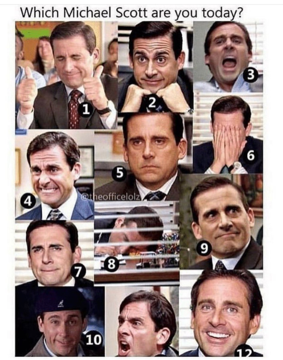 Happy Wednesday! Ep4: The Alliance coming Friday! Which #MichaelScott are you today? #theoffice #PodernFamily<br>http://pic.twitter.com/pKKIFckxX4