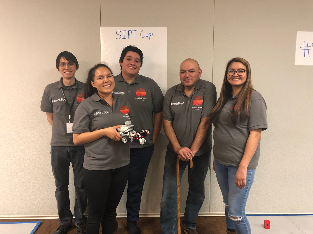 @NASAedu is at @aihec today talking to Tribal College students about NASA Internships. Students also competed in a NASA Community College Aerospace Scholars (NCAS) Lunar Rover challenge! Are you a community college student? Learn more about NCAS today: nas.okstate.edu/ncas/