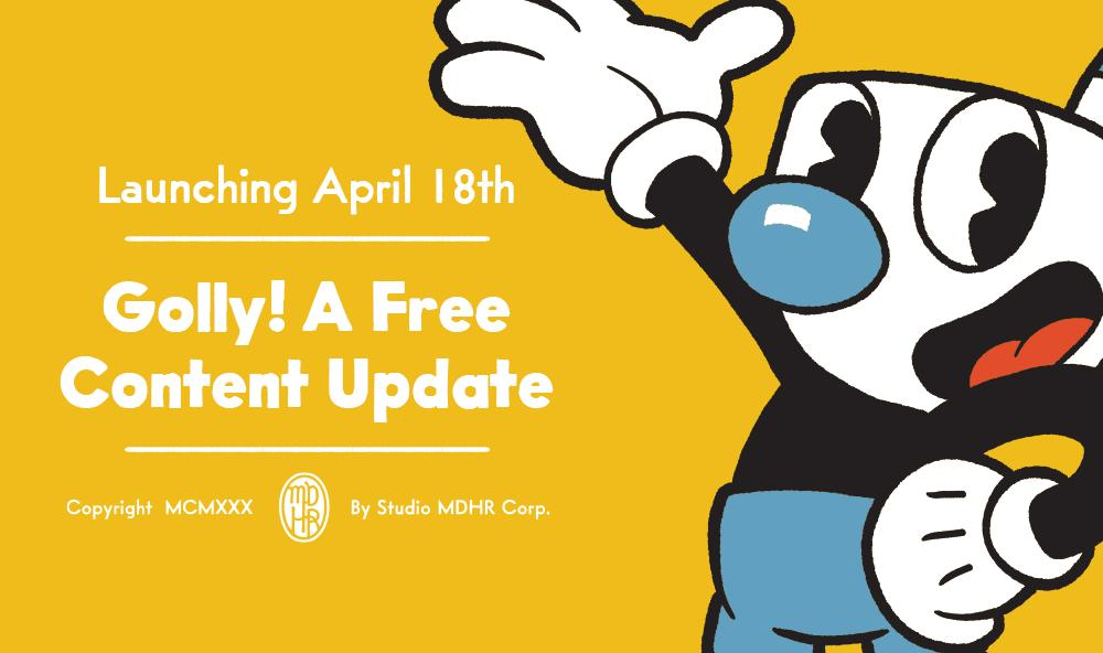Launching alongside our Nintendo Switch version of Cuphead on April 18th is our most exciting update ever! 11 localized languages, Mugman in single player, and so much more...available for free on all platforms!   Read all about it here: http://studiomdhr.com/cuphead-is-coming-to-nintendo-switch-plus-new-free-content-for-everyone/…